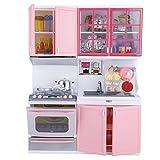 Dilwe Kitchen Play Toys, Diversi¨n con Amigos Kitchen Kitchen Playset con Sonidos y Luces de M¨¢s de 3 A?os