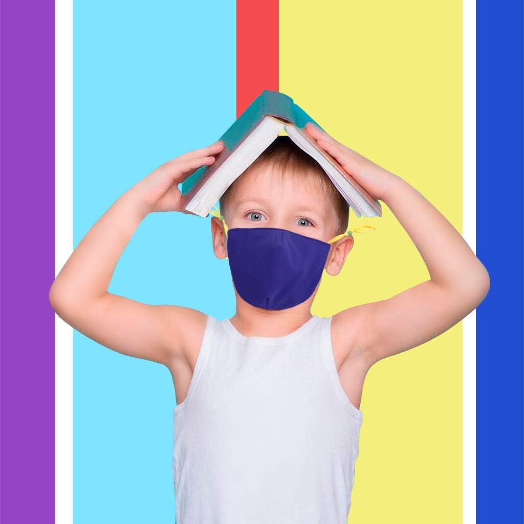 Blingko Kinder Wiederverwendbar Lustiger Mundschutz Waschbar Baumwolle Atmungsaktive Staubdicht Multifunktional Halstuch f/ür Junge und M/ädchen