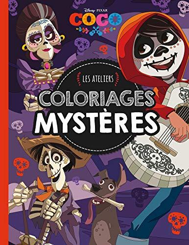 COCO - Les Ateliers - Coloriages mystères - Disney Pixar