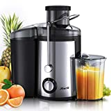 Juicer Machines, [2020 Upgrade] Joerid Centrifugal Juicer, Juice Extractor with Spout Adjustable,...