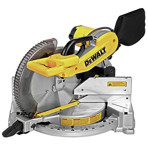 Dewalt DWS716R 15 Amp Double-Bevel 12 in. Electric Compound Miter Saw (Renewed)