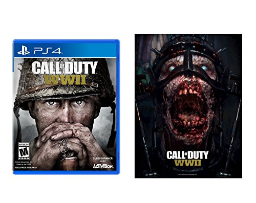 Call of Duty: WWII + Collectible Lenticular Print - PlayStation 4 Standard Edition