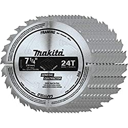 Makita 7-1/4 24T Circular Saw Blade Review