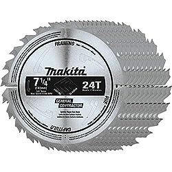 "10 PACK 10 BLADES Diablo D0724A 7-1//4/"" x 24T Carbide Framing Saw Blade New"