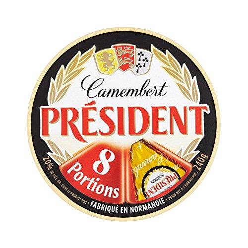 Président Fromage Camembert 8 Boîtes 30 g