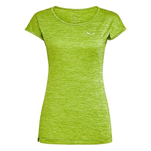 Salewa Puez Melange Dry W S/Tee Femme Tendershot Mélange FR: L (Taille Fabricant: 40/34)