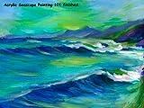 Seascape Acrylics Painting 101