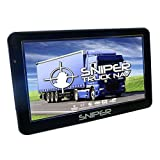 Sniper SN-702T Truck Nav with latest UK and Europe Maps, 7″ Sat Nav for Truck, Lorry, HGV, LCV,...