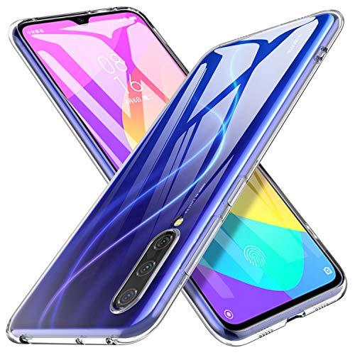iBetter für Xiaomi Mi 9 Lite Hülle, für Xiaomi Mi A3 Lite Hülle, Soft TPU Ultradünn Cover [Slim-Fit] [Anti-Scratch] [Shock Absorption] Handyhülle passt für Xiaomi Mi 9 Lite Smartphone, klar