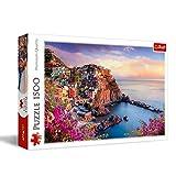 Puzzle Widok na miasteczko Manarola 1500
