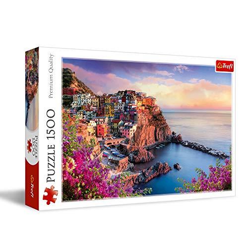 Trefl - 26137 - Puzzle - Vue - Manarola - 1500 Pièces