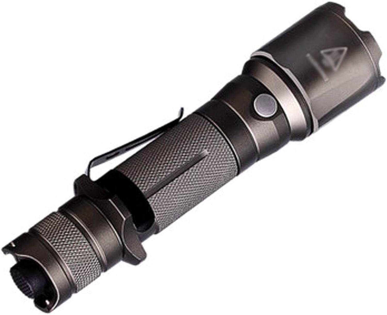 LED Glare Taschenlampe Led Tactics Aluminium Alloy Wasserdichter überhitzungsschutz Geeignet für Outdoor Camping (Farbe   braun)
