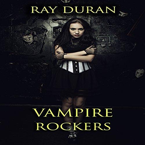 Vampire Rockers audiobook cover art