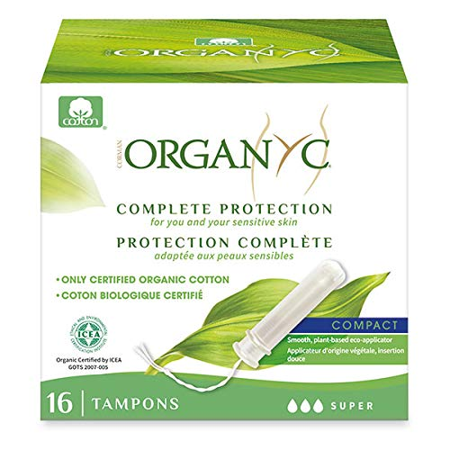 ORGANYC - Tampon Compact Super Applicateur 16 Tampons