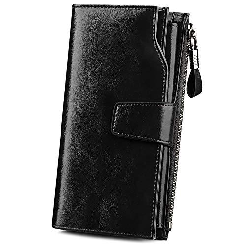 S ZONE Women Leather Wallet Purse