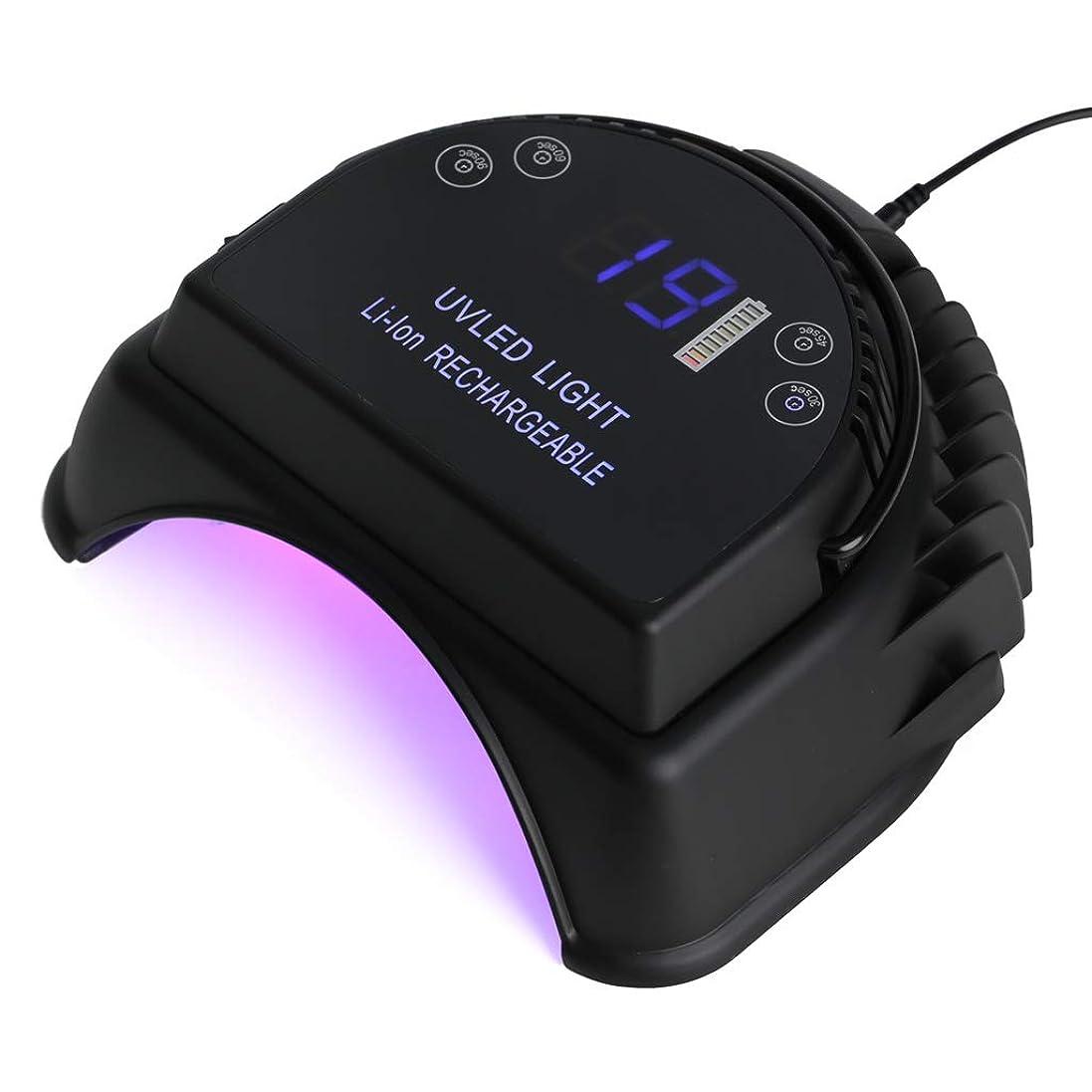 運命的なオレンジ大工爪ドライヤー64W マニキュアランプ、すべての爪の接着剤に適したスマートセンサー、光線療法ジェル、エクステンション接着剤
