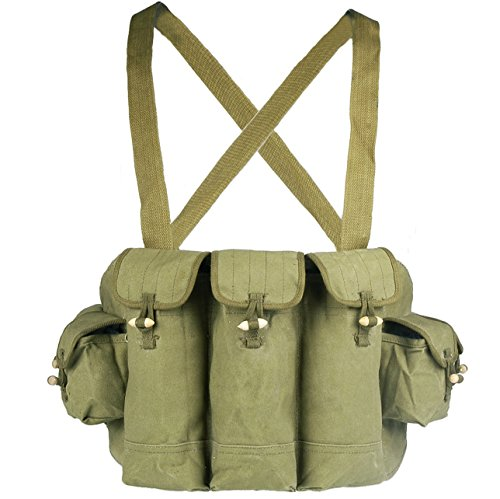Loklode Chinese Military Surplus AK47 Chest Pouch Rig Ammo...
