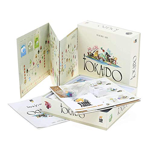 Tokaido Family Party Party Puzzle Board Gameenglish Versionthe Perfect Board Game Christmas Perfect Board Game