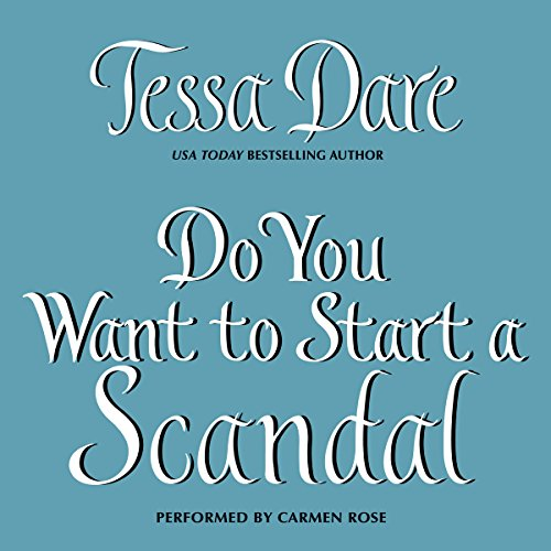 Do You Want to Start a Scandal audiobook cover art