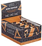 Amazon-Marke Amfit Nutrition Protein-Riegel Schokoladen-Karamell