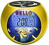 Lexibook - Despertador Digital, Amarillo (Minions)