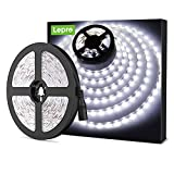 Lighting EVER LE Tira LED, Cadena de Luces, 5m 300 LED SMD 2835, Blanco Frío No Impermeable 6000K para Techo, Escaparate,...