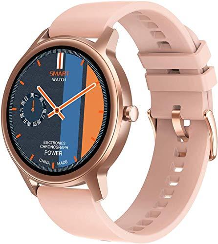 Reloj inteligente Fitness Trackers Podómetro Impermeable Smartwatch Frecuencia Cardíaca Monitor de Presión Arterial Actividad Seguidor de Sueño Contador de Paso Bluetooth Deportes Running-1