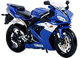 Yamaha YZF-R1 Blue 1:12 Maisto Moto modelo modelo modelo die cast