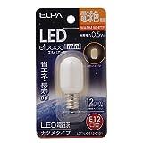 エルパ LEDエルパボールmini 0.5W E12口金 電球色 LDT1L‐G‐E12‐G101 1個