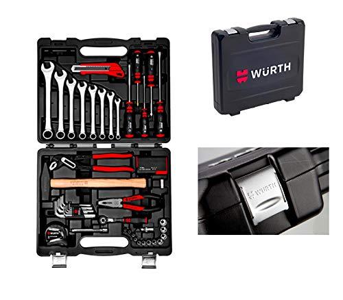 Wurth - Maletín portaobjetos universal surtido 56 piezas Art. 096593156