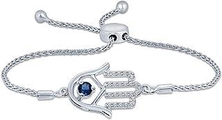 LEROJASS Sterling Silver Jewelry Tennis Bracelets for Women Cubic Zirconia Inlaid Italian Luxury Adjustable Bracelet for Women