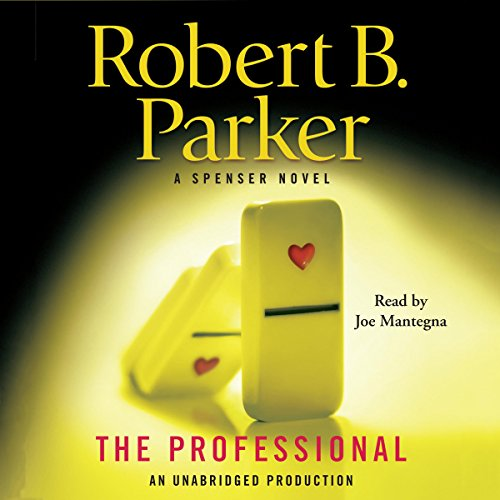 The Professional audiobook cover art