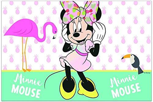 Nieuw: tafelkleed * Minnie Tropical * voor kinderverjaardag en themafeest | Motto Disney Mouse kinderen verjaardag party strand tropisch paradijs