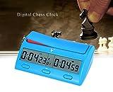 CHSEEA Reloj Digital de ajedrez Temporizador de Junta Juego Cuenta...