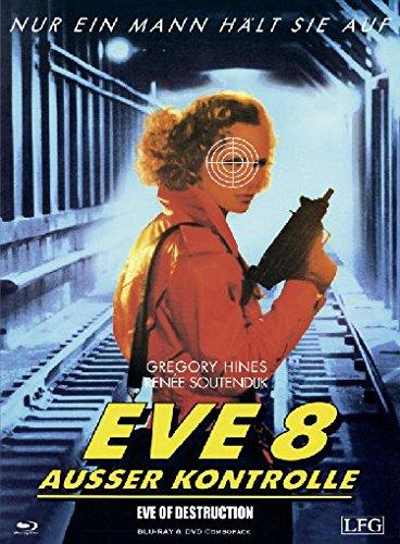 Eve 8 - Ausser Kontrolle - Limitiertes Mediabook auf 666 Stück (+ DVD) [Blu-ray]