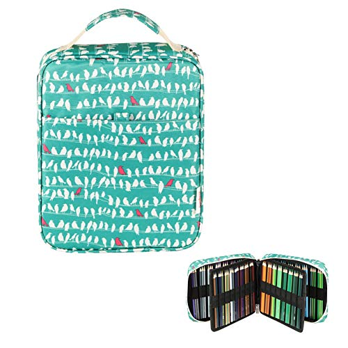 Lumsburry Universal Large Coloured Pencils Case for 150 Pencils/ 120 Gel...