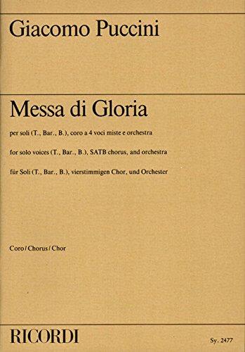 Messa di Gloria (lat.)