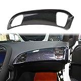 Carbon Fiber Dashboard Panel Decor Cover for Chevrolet Corvette C7 2014-2019