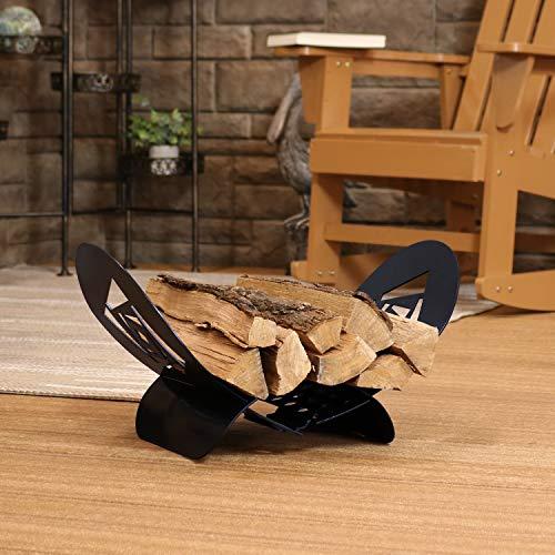 Lowest Price! w34 Firewood Log Holder - Steel - 20-inch
