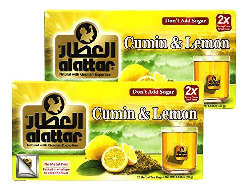 2 Boxes of Cumin & Lemon Herbal Tea Bags (20 bags/box)