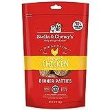 Stella & Chewy's Comida para Perros de Comida cruda de Pollo de Freeze-Dried Chewy's para Comida de Perro, Bolsa de 14 onzas, congelada