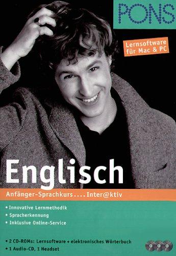 PONS Interaktiv Englisch. Anfänger-Sprachkurs.2 CD- ROM