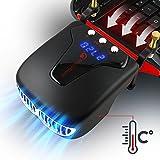 TECHSIDE Dispositivo Raffreddante Sottovuoto Rapido Per Notebook | Ice 4...