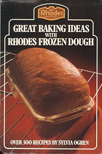 Bake Breads from Frozen Dough