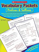 Vocabulary Packets: Greek & Latin Roots: Ready-to-Go Learning Packets That Teach 40 Key Roots and Help Students Unlock the Meaning of Dozens and Dozens of Must-Know Vocabulary Words by Onish, Liane [2010]
