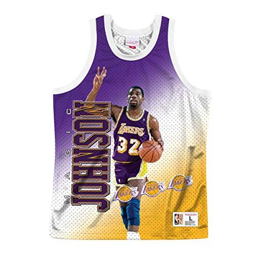 Mitchell & Ness NBA Behind The Back Tank LA Lakers Magic Johnson XL