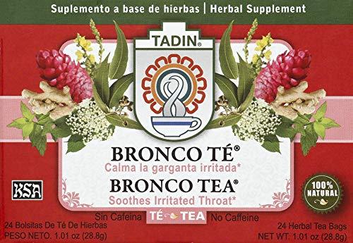 Tadin Bronco Tea Bag, 24-count (Pack of 6)