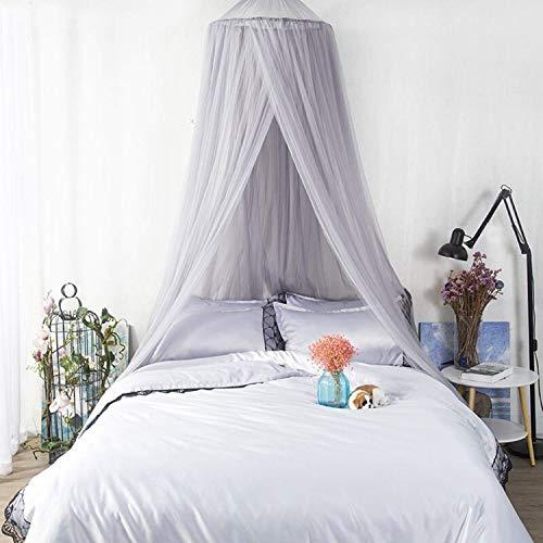 wxqym Tienda de bebé Mosquitera Mosquitera Mosquitera Cortina Decoración de la habitación de los niños Protección de la Red de Insectos (Color : Gray)