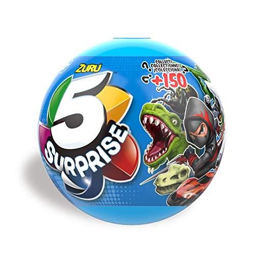 Zuru 7701 - Überraschungskapsel, 5 Surprise für Jungen, 1 von 150 verschiedenen Spielzeugen pro Kapsel, 5 Überraschungen zum Sammeln und Tauschen