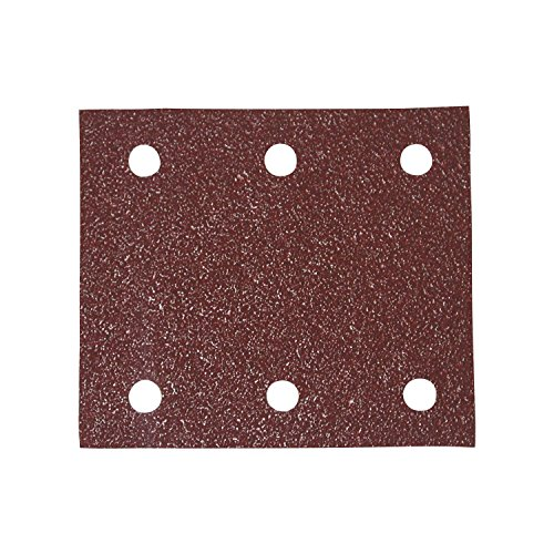 Makita P-33130 Hook&Loop Feuilles abrasives 1/4 Perforé 150G, Multicolore, Grains 150 - Lot de 10